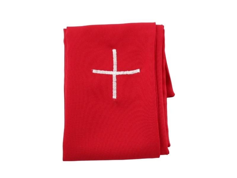 Estola_Sacerdotal_simple_con_cruz_color_Poliester_Rojo_-_cerrada
