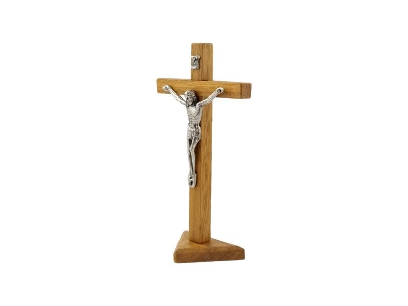 Crucifijo_con_base_Madera_clara_con_Cristo_16x8cm_-_costado