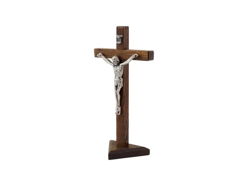 Crucifijo_con_base_Madera_oscura_con_Cristo_16x8cm_-_costado