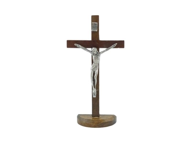 Crucifijo_con_base_Madera_oscura_con_Cristo_19x10cm_-_frente