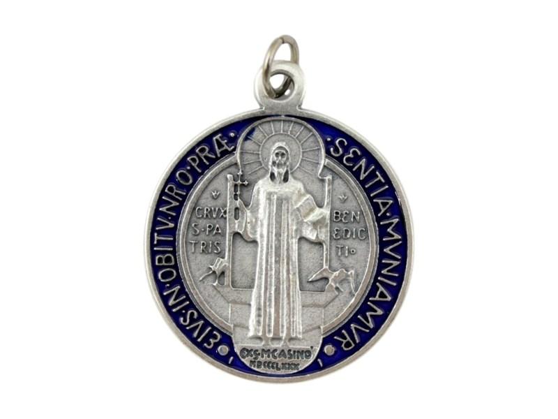 Medalla_Plateada_San_Benito__con_esmalte__48mm_-_frente