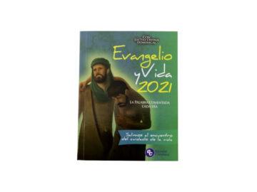 Libro Evangelio y Vida editorial claretiana 2021 - frente