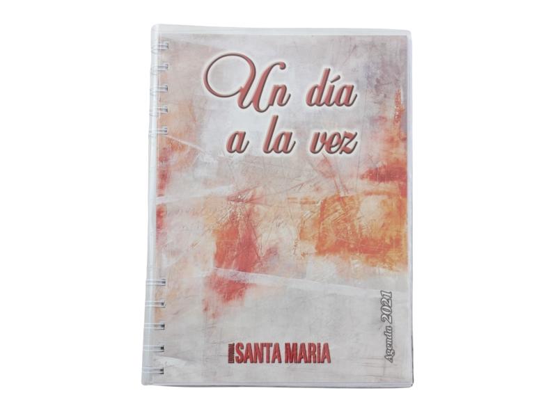 Agenda 2021 grande UN DIA A LA VEZ Editorial Santa Maria - frente