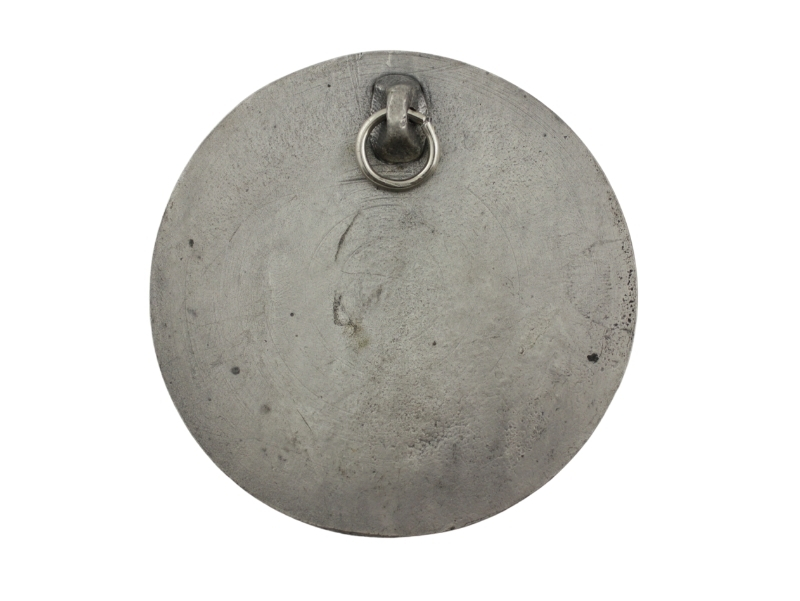 Medallon Fundicion Lujan 8cm - dorso