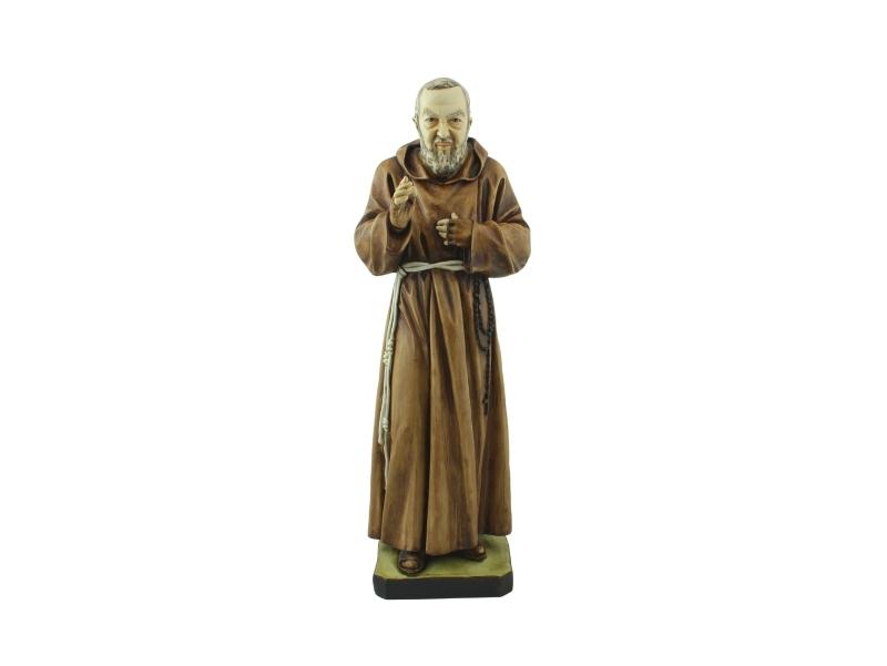 Estatua - Resina italiana - Padre Pio - 60cm - frente