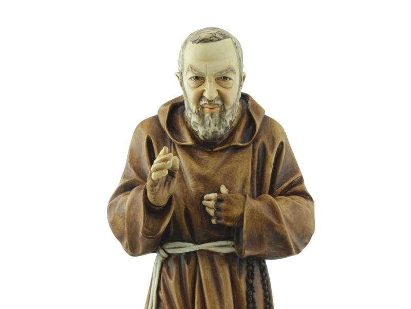 Estatua - Resina italiana - Padre Pio - 60cm - zoom