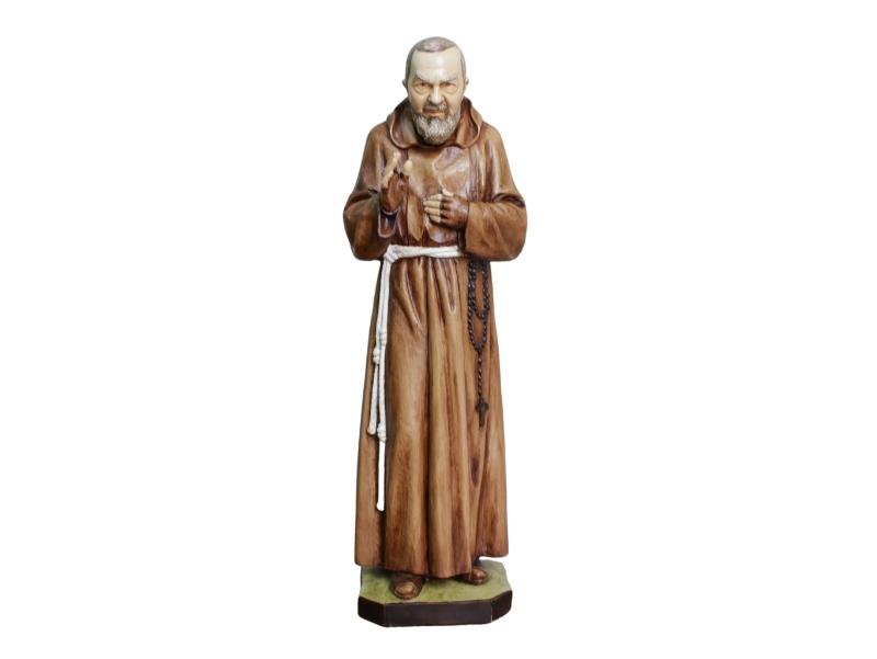 Estatua - Resina italiana - Padre Pio - 80cm - frente