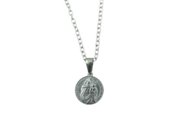 Medalla - Acero quirurgico - Roisario de San Nicolas - 20mm