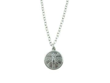 Medalla - Acero quirurgico - Espiritu Santo - 22mm 22