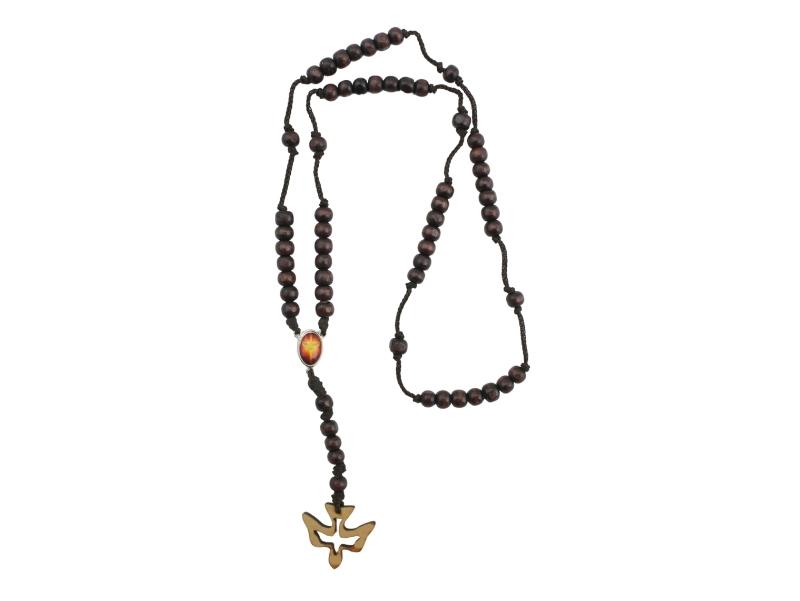 Coronilla - Madera - Espiritu Santo - completo marron
